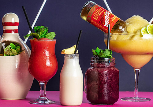 our range of cocktails